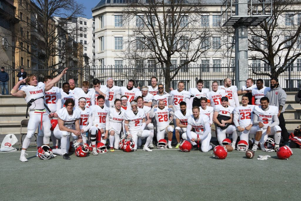 Teampic OV VS SGD april frogner stadion amerikansk fotball american football