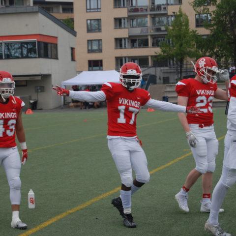 Klare for kamp Oslo Vikings Daniel Redai